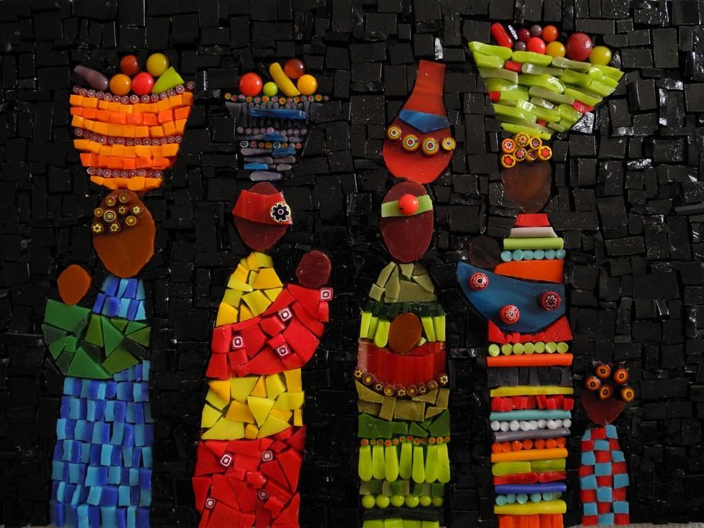 Idees Mosaiques Image : Antigone mosaïque