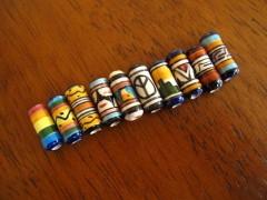 perles céramiques, création ethnique du pérou, Mexique, littlemarket
