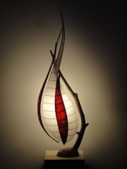 createur luminaire, lampes, appliques, bois métal,papier japonnais