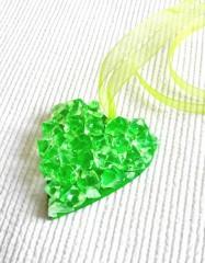 coeur mosaïque à suspendre, coeur mosaic à suspendre, coeur décoratif saint valentin, coeur à offrir saint valentin