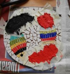 comment réaliser plusieurs joints sur un mosaïque, tutoriel multi joints